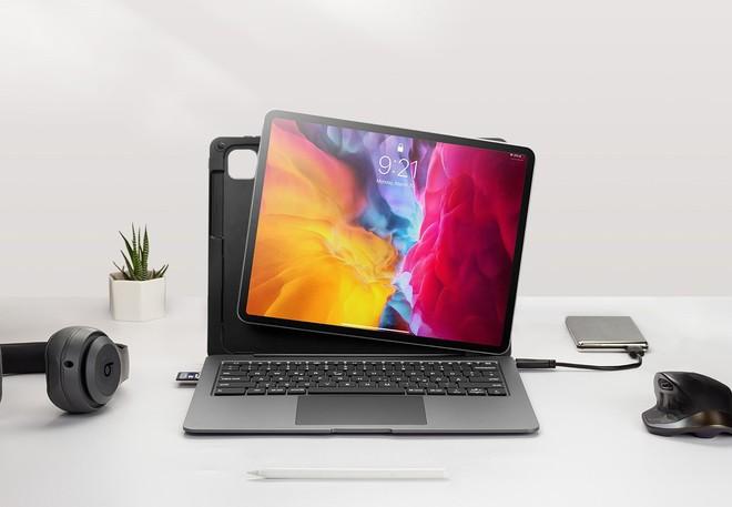 Chiếc case này biến iPad Pro thành laptop: Bàn phím xịn, đủ cổng kết nối, trackpad to như Macbook, mua sớm để giá giảm đến 40% - Ảnh 2.