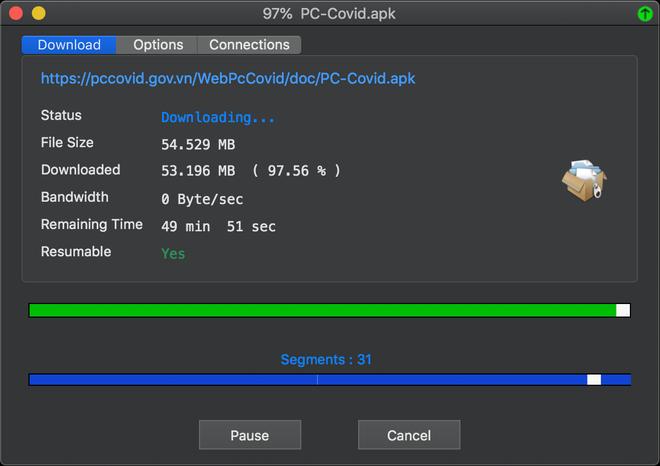 Trải nghiệm sử dụng app PC-COVID: Lỗi ngay từ khâu đăng nhập - Ảnh 4.