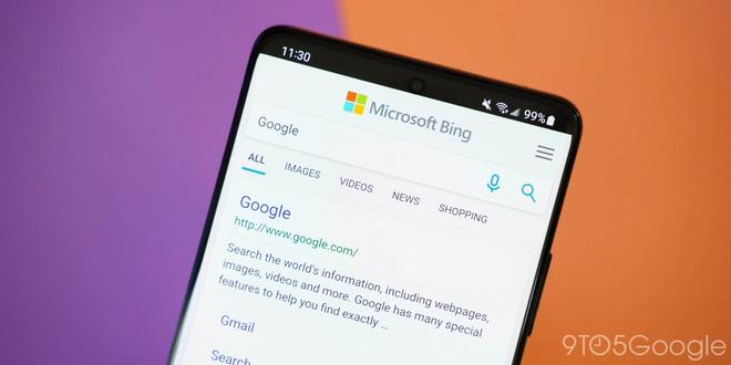 Google chính là từ khóa được tìm kiếm nhiều nhất trên Bing, theo Google - Ảnh 1.