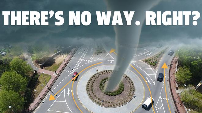 Liệu lái xe thành vòng tròn có thể tạo ra lốc xoáy không? Hãy nghe chuyên gia trả lời - Ảnh 1.