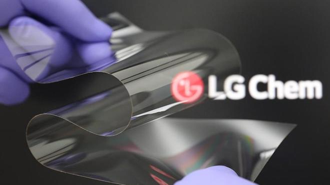 LG giới thiệu màn hình nhựa có thể gập lại mà vẫn cứng như màn hình bằng kính - Ảnh 1.