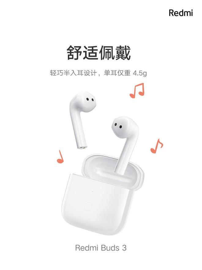 Xiaomi ra mắt tai nghe không dây giá rẻ: Thiết kế giống AirPods, chống nước IP54, pin 20 giờ, giá chỉ 550K - Ảnh 1.