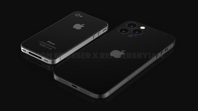 iPhone 13 còn chưa ra nhưng iPhone 14 đã rò rỉ: Không tai thỏ, viền titanium, camera không lồi, có nét giống iPhone 4 - Ảnh 4.