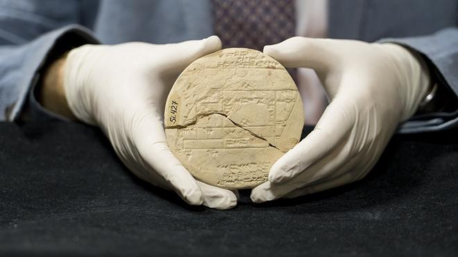 Miếng đất sét 3.700 năm tuổi đã giúp chứng minh định lý Pitago đã được ứng dụng trước khi nhà triết học Pythagoras ra đời - Ảnh 2.