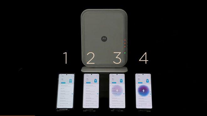 Motorola trình diễn công nghệ truyền năng lượng không dây: sạc 4 thiết bị cùng lúc ở khoảng cách 3 m - Ảnh 2.