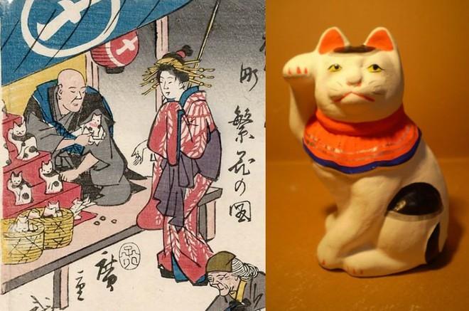 Maneki-Neko là gì? Hãy khám phá nguồn gốc hấp dẫn của chú mèo may mắn đến từ Nhật Bản - Ảnh 8.