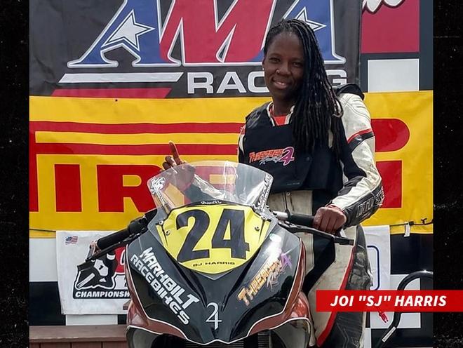 Danh tính của nữ diên viên đóng thế đã được xác định: Joi SJ Harris - nữ biker chuyên nghiệp đến từ Brooklyn, NY, đã có kinh nghiệm lâu năm trong việc vận hành motor phân khối lớn