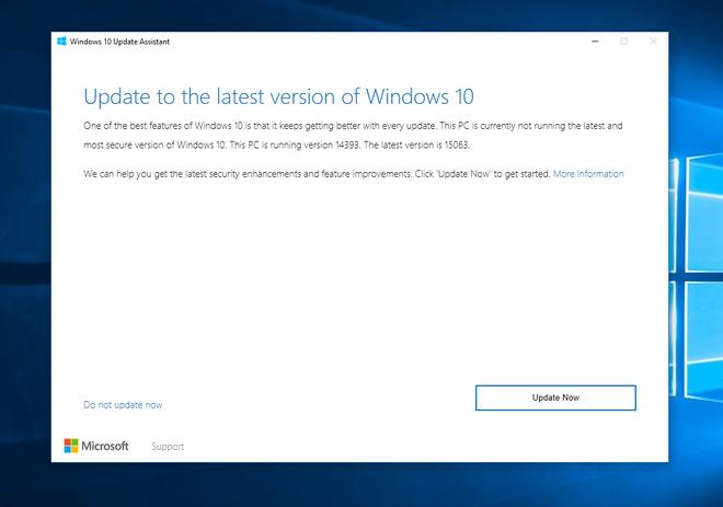 Đây là cách đơn giản và nhanh chóng nhất để bạn có thể nâng cấp lên Windows 10 Fall Creators Update - Ảnh 1.