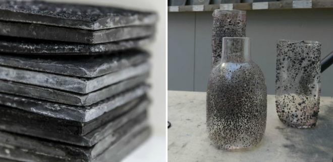 Một công nghệ đặc biệt giúp chế tạo ra những mẫu đá có thể dùng để làm đường, xây dựng các công trị hay xử lý sự cố tràn dầu ngoài đại dương.