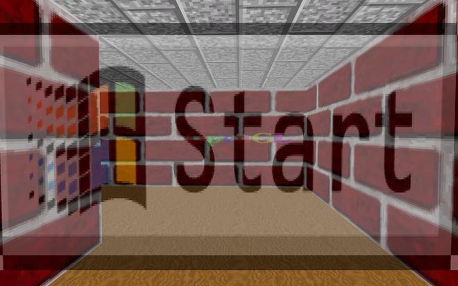 Nút Start - khởi đầu game đã quá quen thuộc.