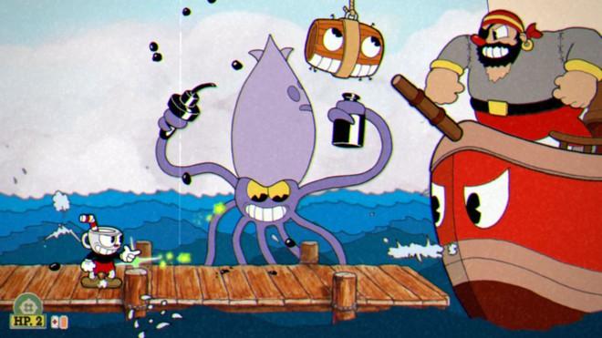 Cuphead gây ấn tượng với đồ họa hoài cổ và gameplay đầy thử thách.