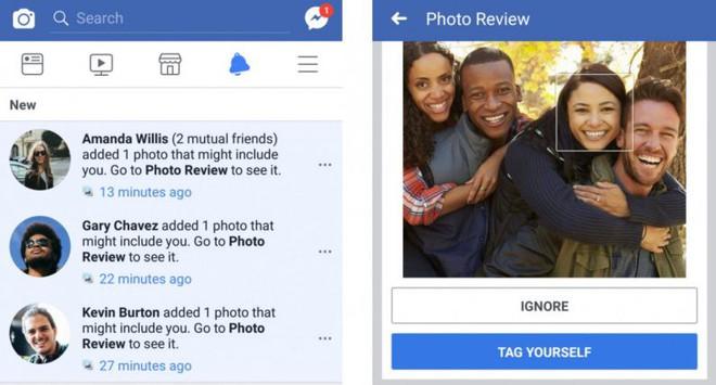 Khả năng nhận diện khuôn mặt để gắn thẻ người dùng của Facebook đang ngày càng tiến bộ.