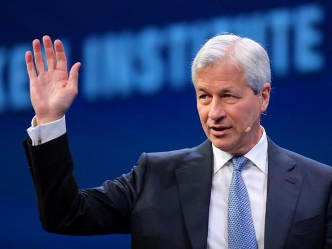 Jamie Dimon, CEO của JPMorgan Chase, ngân hàng lớn nhất nước Mĩ