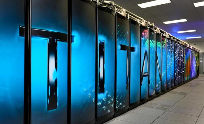 Siêu máy tính Titan của Mỹ thất thế nặng nề