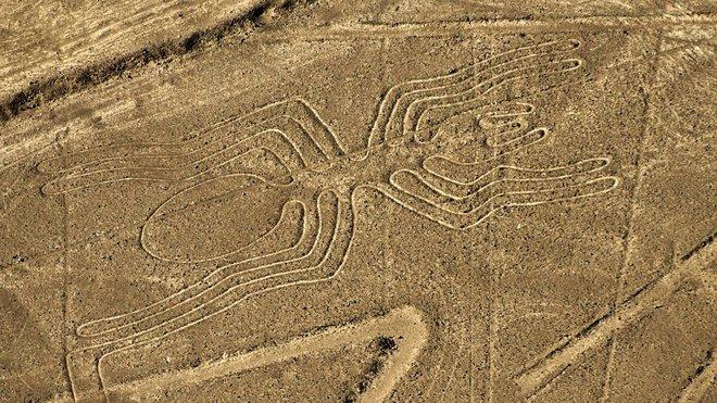 Hình ảnh của một trong những đường Nazca.
