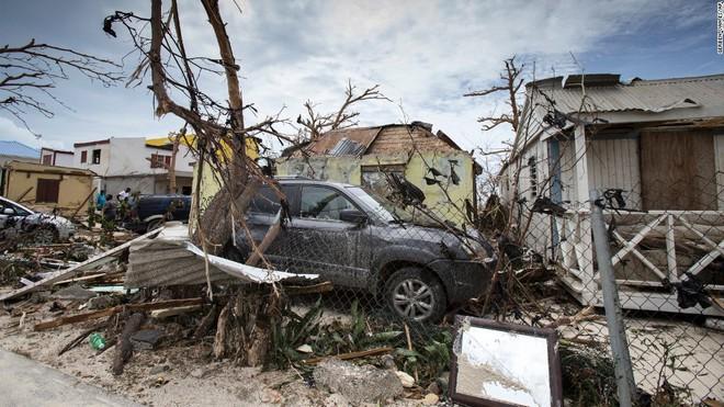 Hậu quả của cơn bão Irma để lại