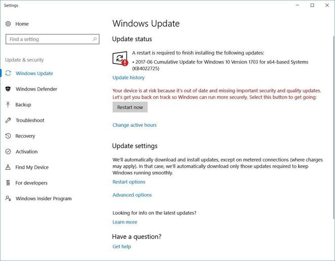Người dùng được khuyến cáo cài đặt bản vá bảo mật mới nhất của Microsoft