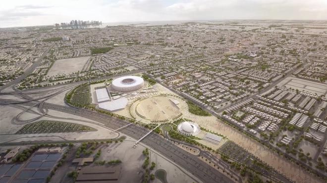 Sân vận động có sức chứa lên tới 40 nghìn khán giả, và có cả điều hòa !