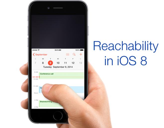 Reachability đã trở thành một tính năng quen thuộc với người dùng các sản phẩm iPhone trước đây.