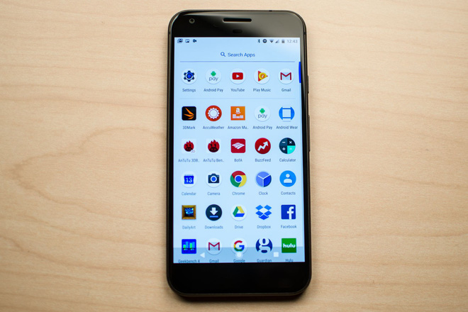 Thế hệ smartphone Pixel đầu tiên chỉ chiếm một thị phần rất nhỏ tại Mỹ.