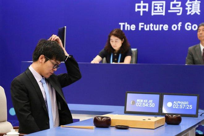 Thất bại của Ke Jie trước AlphaGo đã trở thành động lực cho AI Trung Quốc.
