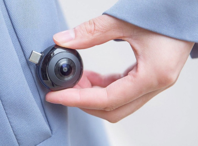 Xiaomi giới thiệu camera di động: nhỏ gọn như USB, có thể cắm vào smartphone và chụp hình mọi lúc mọi nơi - Ảnh 1.