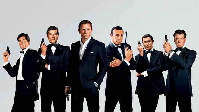 Các đời James Bond, bạn bắt đầu xem từ ai?