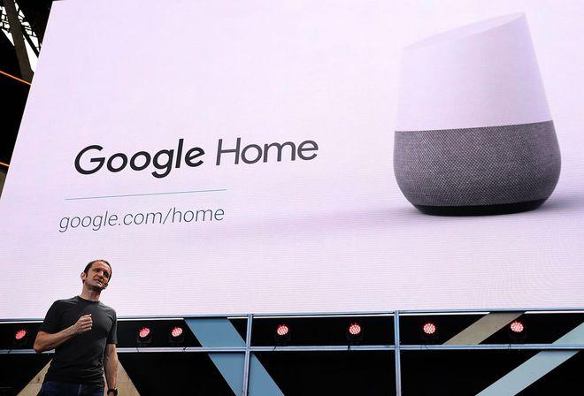Google Home ra đời năm 2016.
