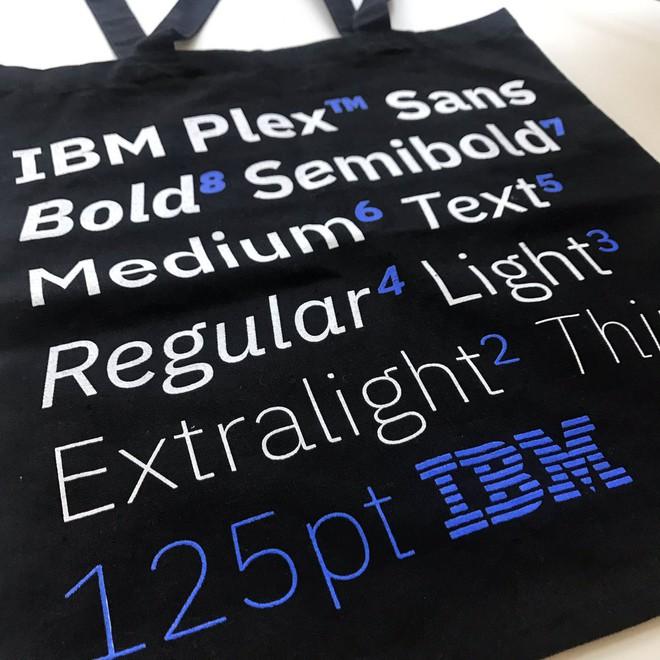IBM Plex sẽ kết hợp hoàn hảo giữa hai yếu tố máy - người.