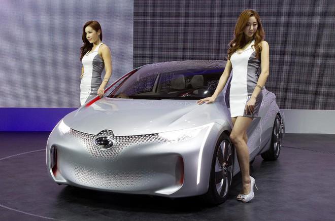 Concept xe EOLAB của Renault Samsung Motors tại Triển lãm Motor Seoul 2015
