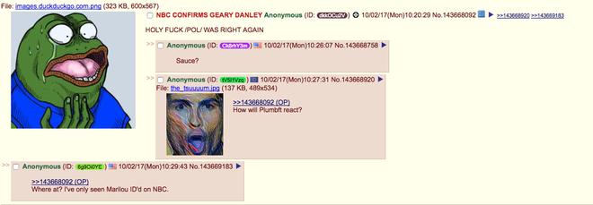 Rất nhiều người trên 4chan đã vội vàng kết luận Geary Danley là đối tượng tình nghi số một.