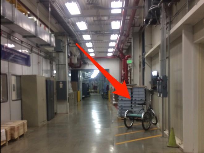 Vì khi APS rất rộng nên các nhà nghiên cứu có thể sử dụng xe đạp ba bánh để di chuyển, thậm chí còn có cả khu đỗ xe riêng cho loại phương tiện này.