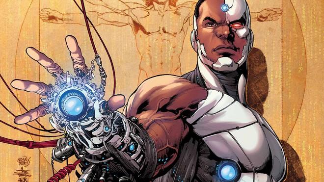 Cyborg là một trong những trụ cột không thể thiếu của Justice league.