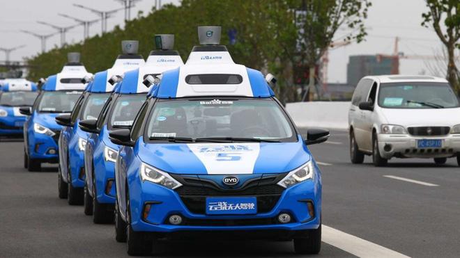 Xe tự lái của Baidu