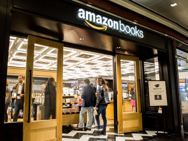 Cửa hàng bán sách offline của Amazon