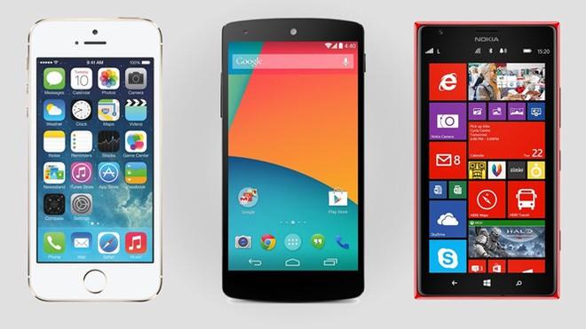 Windows Phone khó có thể cạnh tranh với Android và iOS.