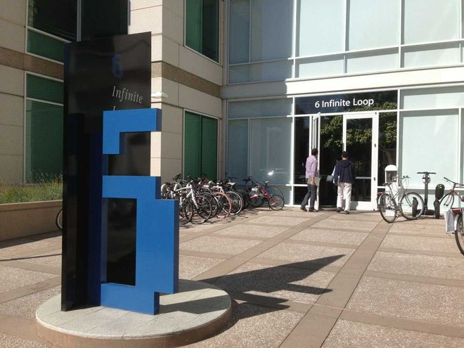 Apple thử nghiệm 5G trên đường quanh trụ sở chính