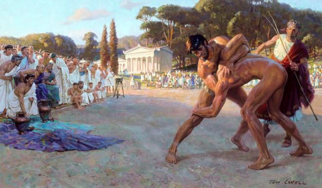 Nhiều người đồng tình rằng khỏa thân chơi thể thao giống người Hy Lạp cổ đại, người ta sẽ thi đấu hiệu quả hơn - Ảnh 1.