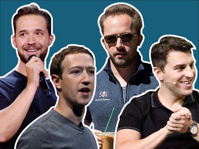 Alexis Ohanian ( CEO Reddit). Mark Zuckerberg (CEO Facebook), Drew Houston (CEO Dropbox) và Brian Chesky (CEO Airbnb).