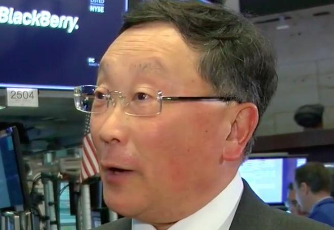 John Chen: BlackBerry đã ra khỏi vòng nguy hiểm - Ảnh 1.