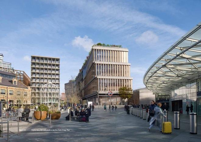 Hai nhà thiết kế Heatherwick Studios và Bjarke Ingels Group cũng đang thực hiện dự án xây dựng trụ sở toàn cầu mới của Google tại Mountain View.