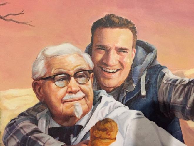 Phát hiện ra ẩn ý trên Twitter của KFC, thanh niên sành mồm được hãng gửi tặng bức tranh cực chất - Ảnh 5.
