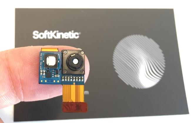 Cảm biến TOF của SoftKinetic có tên gọi DepthSense 544 được giới thiệu vào năm ngoái.