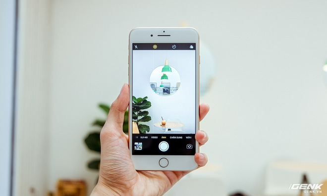 Chụp ảnh bằng iPhone 8 Plus sướng và đã hơn, mặc dù xét trên thông số thì có vẻ như không được nâng cấp nhiều