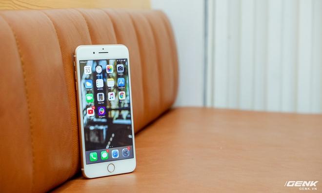 iPhone 8 Plus, chiếc máy mà tôi sử dụng để thử nghiệm