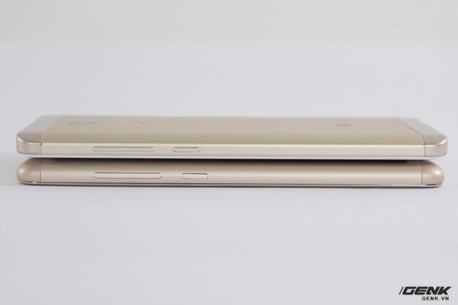 Tuy nhiên Redmi Note 4 cho cảm giác mỏng hơn do mặt lưng không còn bo cong nhiều như Redmi Note 3 Pro