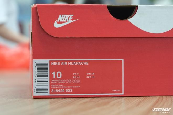 Cần đặc biệt chú ý về sizing của mẫu giày Air Huarache, sẽ được trình bày rõ trong bài viết