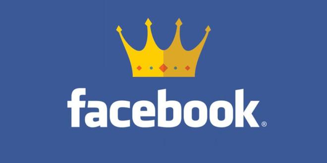 Facebook đang là ông vua mạng xã hội