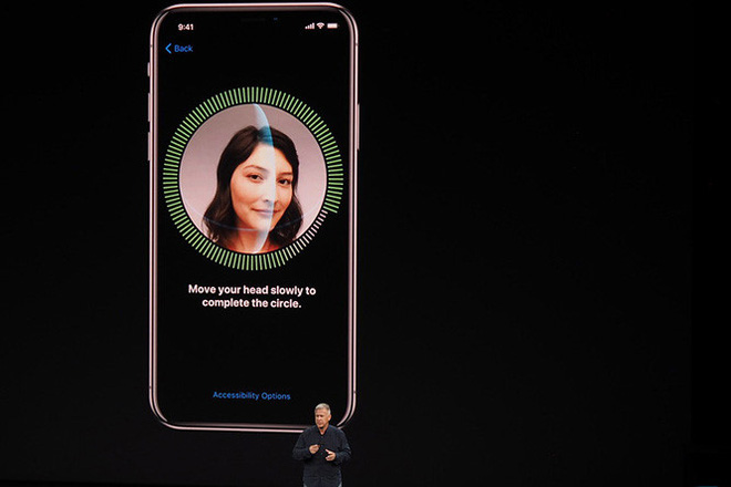 Apple rất tâm đắc với tính năng Face ID.