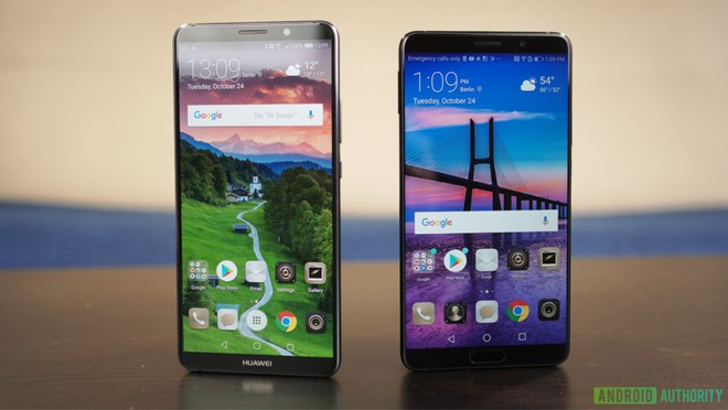 Bộ đôi Huawei Mate 10 Pro và Huawei Mate 10 - dù có tính năng cao cấp nhưng thiết kế thiếu ấn tượng và khó phân biệt với nhau và với các thiết bị khác.
